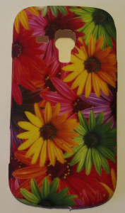Pouzdro JELLY CASE Samsung S7560/S7562 Flowers