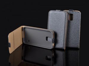 Pouzdro Forcell Slim Flip Flexi Samsung G850 Galaxy Alpha Grafitové