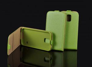 Pouzdro Forcell Slim Flip Flexi Samsung S7560/S7562 Galaxy Trend a S Duos Zelené
