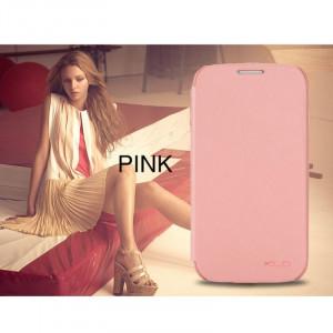 Pouzdro Enland Samsung i9500/i9505 Galaxy S4 Světle růžové