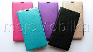 Pouzdro Wallet Velvet Microsoft Lumia 535 Černé