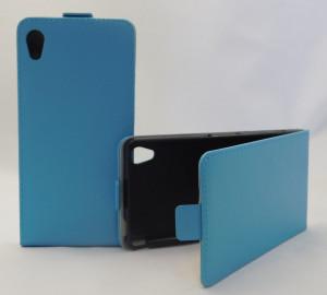 Pouzdro Forcell Slim flexi Sony Xperia M4 Aqua E2303 Světle modré