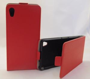 Pouzdro Forcell Slim flexi Sony Xperia M4 Aqua E2303 Červené