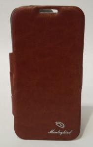 Pouzdro Manleybird Book Case iPhone 4S hnědé