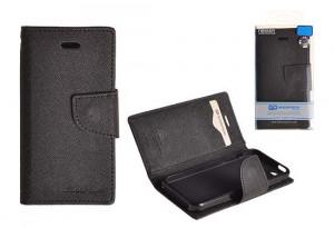 Pouzdro Goospery Mercury Fancy Diary Samsung G900 G903 Galaxy S5 černé