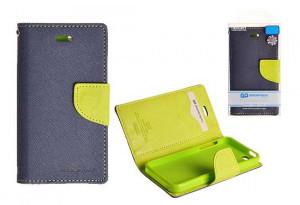 Pouzdro Goospery Mercury Fancy Diary Samsung S7580/S7582 Galaxy Trend Plus a S Duos 2 modr