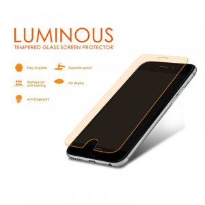Blue star ochranné tvrzené sklo Luminous pro Iphone 6 4,7 Oranžové 5901737254320
