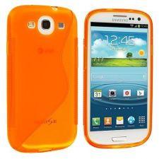 Silikonové pouzdro S-Line Case pro LG L65 / L70 Oranžové