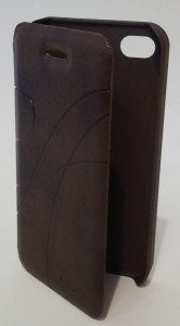 Pouzdro Oscar Book Case Brown Samsung Galaxy I9505 S4