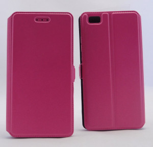 Pouzdro Book Flexi Pocket Huawei P8 Lite Růžové