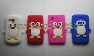 Silikonové pouzdro Pinguin Case pro Samsung i9300/i9301 Galaxy S3 modré