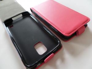 Pouzdro Forcell Slim Flip Flexi Nokia lumia 730 735 Růžové