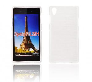 Pouzdro JELLY CASE Plum Samsung S7560/S7562 Galaxy Trend a S Duos Bílé