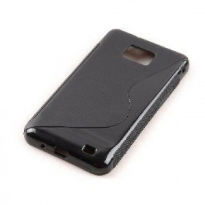 Pouzdro S-Line Case pro Apple iPhone 5C černé silikonové pouzdro