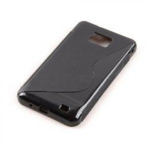 Pouzdro S-Line Case pro Nokia Lumia 520 černé silikonové pouzdro