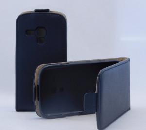 Pouzdro ForCell Slim Flip Flexi Samsung i8190 Galaxy S3 mini černé