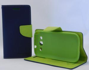 Pouzdro Goospery Mercury Fancy Diary Samsung i9300/i9301 Galaxy S3 modré
