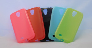 Candy Case Ultra Slim Samsung Galaxy S4 i9505 Červené