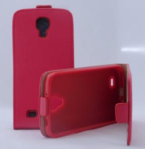 Pouzdro ForCell Slim Flip Flexi Samsung Galaxy S4 i9505 Červené