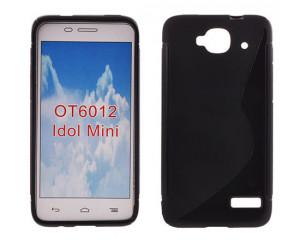 Silikonové pouzdro S-Line Case pro Alcatel OT-6012D Idol mini černé