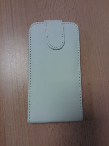 Pouzdro Sligo Classic pro Samsung S7562/S7560 Galaxy Trend a S Duos White