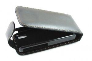 Pouzdro Sligo Classic pro Samsung S7580/S7582 Galaxy Trend a S Duos Black