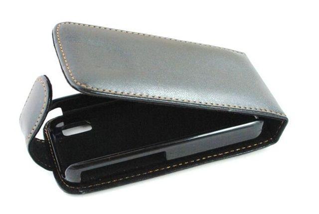 Pouzdro Sligo Classic pro Nokia Asha 208 černé