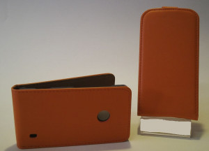 Pouzdro Slim Flip Case 2 HTC DESIRE 816 Oranžové