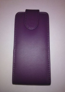 Pouzdro Sligo Classic pro Samsung i8260/i8262 Galaxy Core DS Tmavě fialové