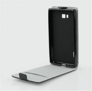Pouzdro ForCell Slim Flip Flexi LG L40 D160 černé