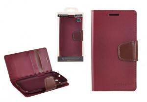Pouzdro Sonata Goospery Leather Flip Samsung I9300/i9301 Galaxy S3 Bordo