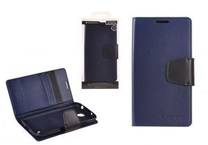 Pouzdro Sonata Goospery Leather Flip Samsung I8190 Galaxy S3 Mini Modré