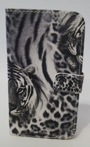 Pouzdro Tiger Book Case Black iPhone 5 iphone 5s