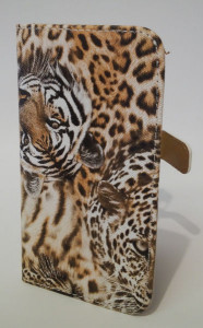 Pouzdro Tiger Book Case Brown Samsung I9195/i9190 Galaxy S4 mini