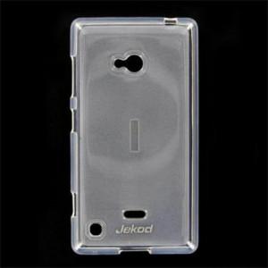 JEKOD TPU Ochranné Pouzdro White pro Nokia Lumia 720