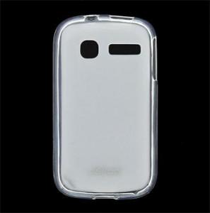 JEKOD TPU Ochranné Pouzdro White pro Alcatel 4015D One Touch Pop C1