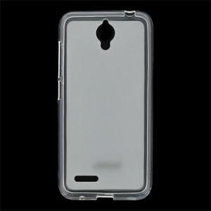 JEKOD TPU Ochranné Pouzdro White pro Alcatel One Touch 6016 Idol 2 mini