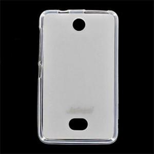 JEKOD TPU Ochranné Pouzdro White pro Nokia 501
