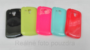Candy Case Ultra Slim Samsung Galaxy Trend S duos S7560 S7562 Černé