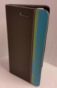 Pouzdro Wallet Mute LG L Fino D290N,D295 Šedé