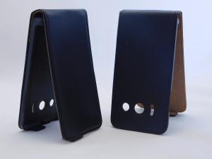 Pouzdro ForCell Slim Flip Huawei Ascend Y300 černé