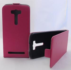 Pouzdro Forcell Slim Flip flexi Asus ZenFone C ZC451CG Růžové