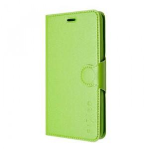 Pouzdro FIXED flip Lenovo A7000 zelené