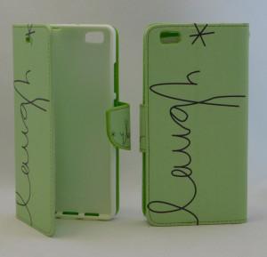 Pouzdro Wallet Design Huawei P8 Lite Zelené
