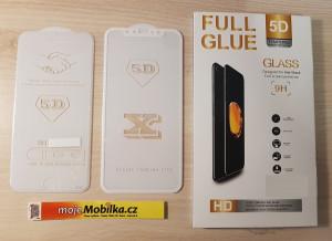 Full Glue 5D tvrzené sklo pro iPhone 7 Plus  5,5´´, Bílé 267