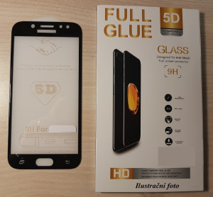 Full Glue 5D tvrzené sklo iPhone 7 / iPhone 8 Black 21034