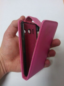 Pouzdro Sligo Classic pro Alcatel 6012D One Touch Idol Mini Pink