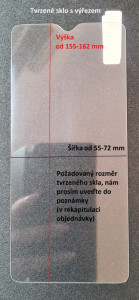 MJM univerzální sklo s výřezem 27679